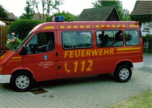 Uebergabe Ford Touring 2005 1